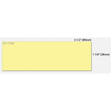 Seiko® SmartLabel Mailing Label, 1.12in.(W) x 3 1/2in.(L), Yellow