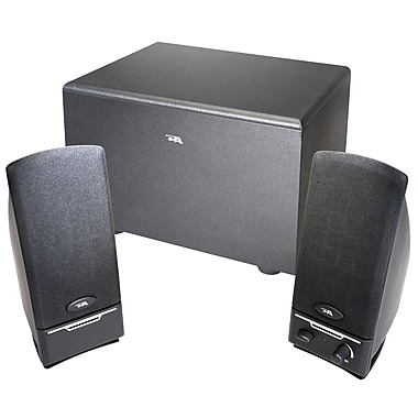 Cyber Acoustics CA-3001RB Black 8 W Powered Speaker System