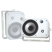 "Pyle® PDWR50W White 6 1/2"" Indoor/Outdoor Waterproof Speaker"