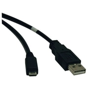 Tripp Lite 10' USB 2.0 A Male to Micro USB B Male USB Cable, Black