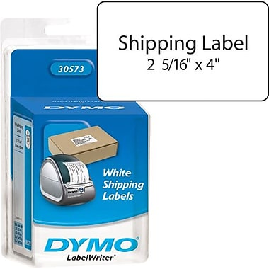Dymo® 30573 White Shipping Label