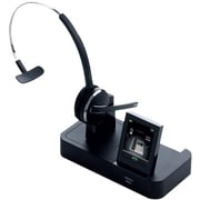 Jabra Pro (9465-69-804-105) Over-the-Head Wireless DECT Duo Stereo Headset with Noise Cancelling Microphone, Black