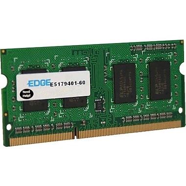 Edge™ 8GB (1 x 8GB) DDR3 (204-Pin SoDIMM) DDR3 1600 (PC3 12800) Memory Module