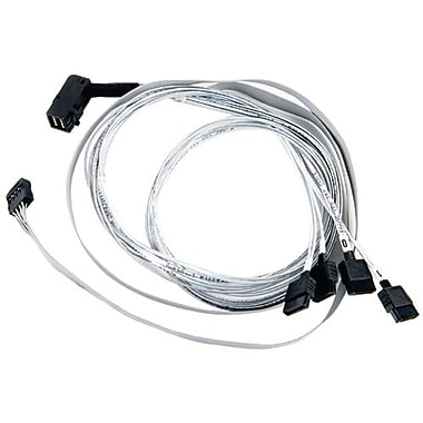 Adaptec® 2280000-R ACK-I-rA-HDmSAS 4SATA-SB 2.6' Serial Attached SCSI (SAS) Internal Cable