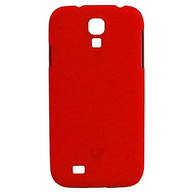 V7® Metro Anti-Slip Case For Samsung Galaxy S4, Red