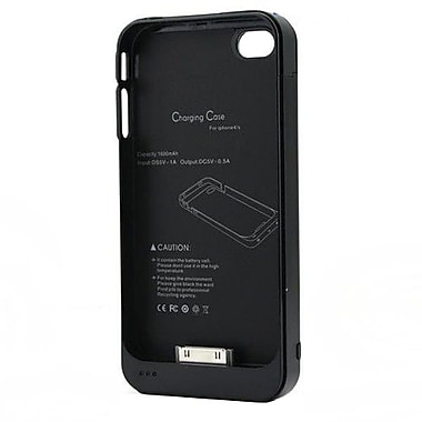 4XEM™ External Backup Battery Case/Cover For iPhone 4/4S