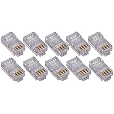 4XEM™ Cat5e RJ45 Ethernet Plugs/Connector, 100/Pack