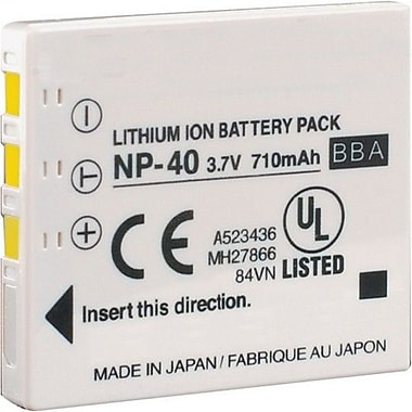 Ultralast™ UL-NP40 900 mAh Lithium Ion Digital Camera Battery