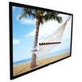 Elite Screens Ez-Frame Series 120in. Fixed Frame Projection Screen, 16:9, CineGrey