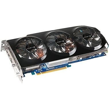 GIGABYTE™ Radeon™ HD 7970 Plug-in Card 1000 MHz 3GB GDDR5 SDRAM Graphic Card