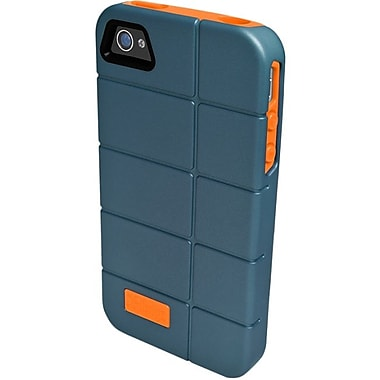 Zagg® ifrogz® Cocoon Case For Apple iPhone 4/4S, Blue/Orange