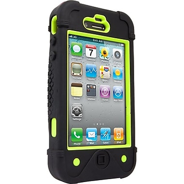 Zagg® ifrogz® Bullfrogz Case For Apple iPhone 5, Black/Green