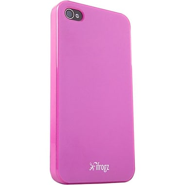 Zagg® ifrogz® Ultra Lean Case For Apple iPhone 4/4s, Pink