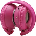 Power Acoustik® HP-K Single 1 Channel IR Headphones, Pink