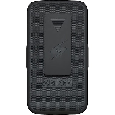 Amzer® Shellster™ Case For Samsung Galaxy S4 GT-I9500, Black