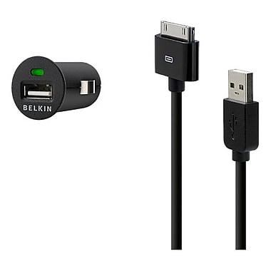 Belkin™ Car Micro Charger/Sync Cable Adapter