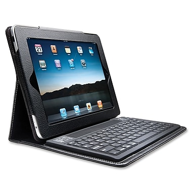 Kensington® KeyFolio™ Keyboard Case For iPad 2/3/4, Black