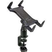 Arkon® Heavy-Duty Desk Or Cart Tablet Clamp Mount, TAB085, Black