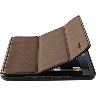 Kensington® Protective Cover and Stand For iPad Mini, Brown Marble