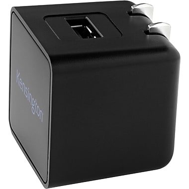 Kensington® AbsolutePower™ 2.1 With PowerWhiz™ AC Adapter For Tablet, Black
