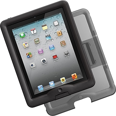 Lifeproof® nuud Case For iPad, Black/Gray