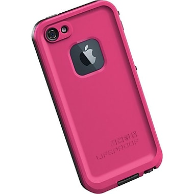 Lifeproof® Fre iPhone 5 Case, Magenta/Black