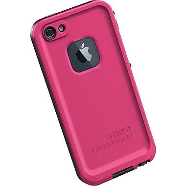 Lifeproof® Fre iPhone 5 Case, Magenta/Black