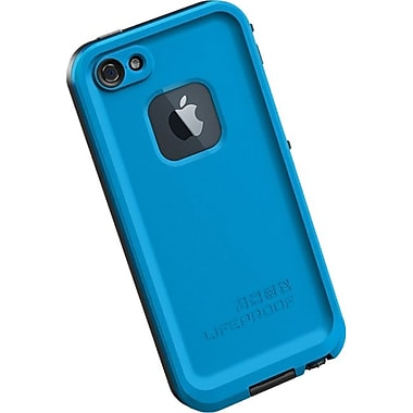 Lifeproof® Fre iPhone 5 Case, Cyan/Black
