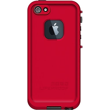 Lifeproof® Fre iPhone 5 Case, Red/Black