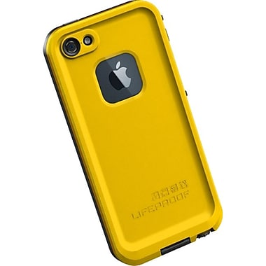 Lifeproof® Fre iPhone 5 Case, Yellow/Black