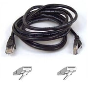 Belkin™ 50' Cat5e RJ45 Male/Male Assembled Patch Cable, Black