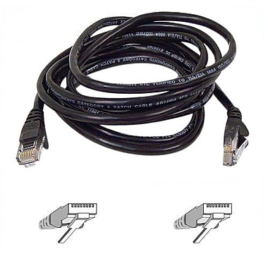 Belkin® A3L791 Cat5E 20' Snagless Molded Patch Cable, Black
