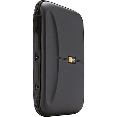 Case Logic® Molded EVA Foam 48 CD Wallet, Black, Each