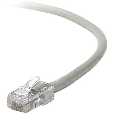 Belkin® A3L791B14 Cat5E 14' Patch Cable, Gray