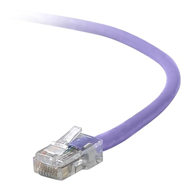 Belkin® A3L791 Cat5E 4' Patch Cable, Purple