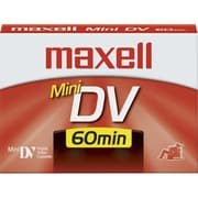 Maxell  Digital MiniDV Video Cassette, 60 Min