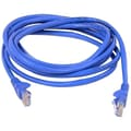 Belkin® A3L791 Cat5E 14' RJ45 M/M Patch Snagless Cable, Blue