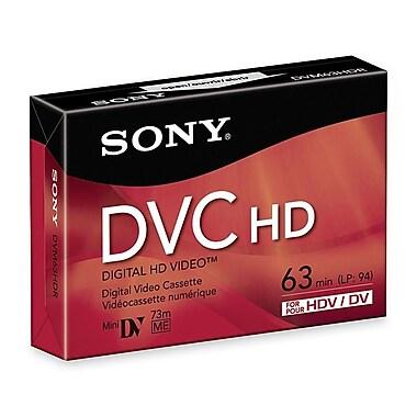 Sony DVM-63HDR 63 Min HD DV Cassette