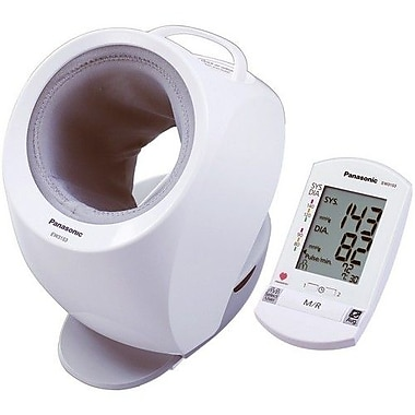 Panasonic® Diagnostec™ Upper Arm Cuffless Blood Pressure Monitor With Portable Wireless Display