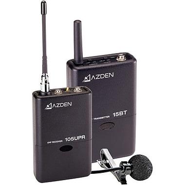 Azden® 3.3in.H x 2.4in.W x 0.85in.D Lavalier UHF Wireless Microphone System