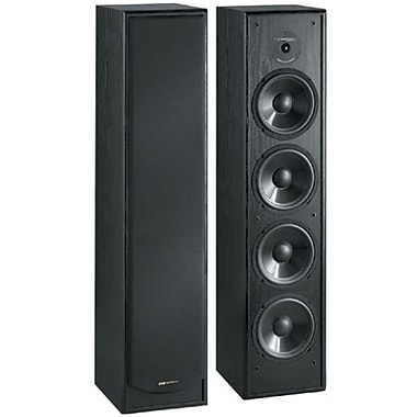 Bic Venturi DV64 200 W 2-Way Floor Standing Speaker, Black
