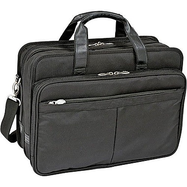 McKlein® Walton R Laptop Case For 17in. Notebook, Black