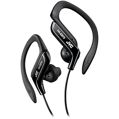 JVC HAEB75 Ear-Clip Earphone For Light Sports With Bass Enhancement, Black