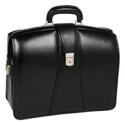 "McKlein® Harrison V Briefcase For 17"" Notebook, Black"