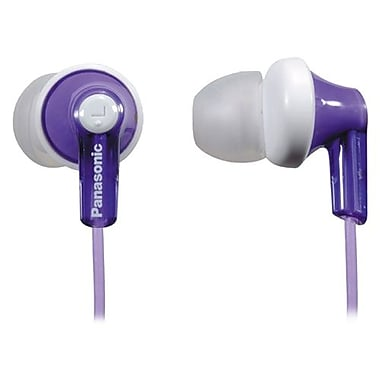 Panasonic® RP-HJE120 ErgoFit In-Ear Headphones, Violet