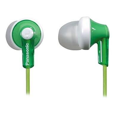 Panasonic® RP-HJE120 ErgoFit In-Ear Headphones, Green