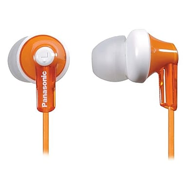 Panasonic® RP-HJE120 ErgoFit In-Ear Headphones, Orange