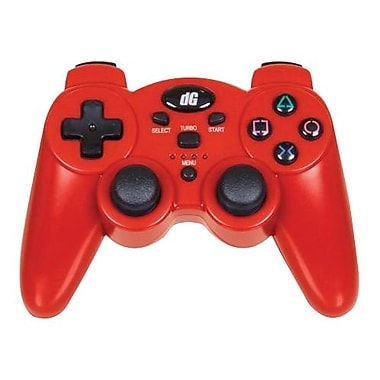 DreamGEAR® PS3 Radium Wireless Controller, Metallic Red
