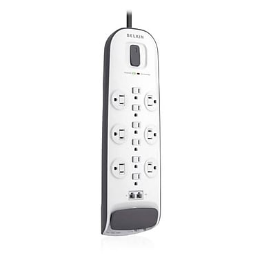 Belkin® 12-Outlets 3000 Joule Surge Suppressor With 10' Cord