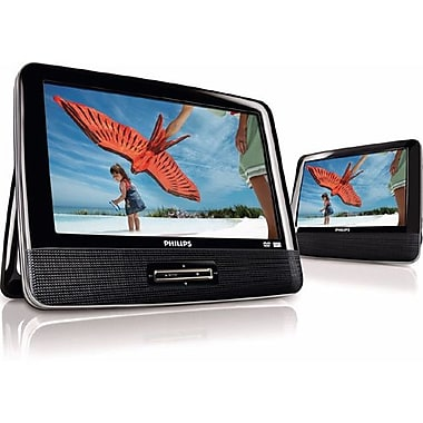 Philips PD9012/37 9in. Dual Screen Car DVD Player
